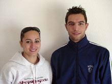 Rui e Carla Jerónimo novamente medalhados