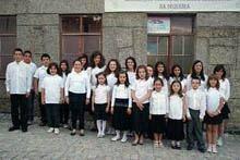 Coro Infantil da Sequeira atua em Albardo
