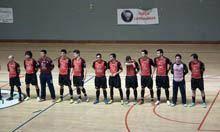 Lameirinhas entre as séries A e B da IIª         Divisão de futsal
