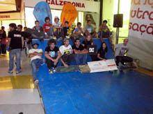 Acrobacias radicais atraem visitantes ao         VIVACI