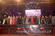 O Pavilhão do Nerga recebeu o baile de         finalistas