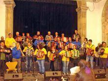 I Encontro de Concertinas da Escola         Profissional de Trancoso