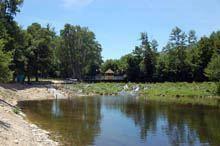 Associação toma conta da praia fluvial de         Aldeia Viçosa