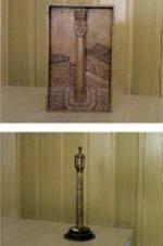 Trabalhos de madeira em relevo para ver na         Mêda