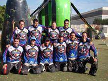 Triball estreia-se no Nacional de paintball
