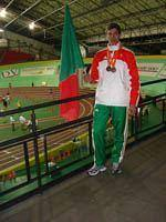 Carlos Pereira conquista bronze dos Europeus         de Veteranos