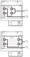 ステイプルフィニッシャー・J1/中綴じフィニッシャー・J1/外付け2穴パンチャー・B2