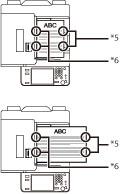 Staple Finisher-J1/Booklet Finisher-J1/External 2/3 Hole