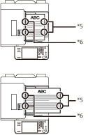 Unidad de Acabado Grapadora J1/Unidad de Acabado de
