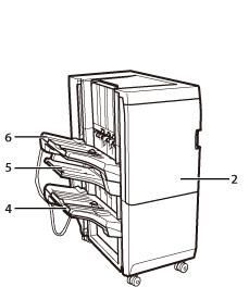 Finisher K1/Broschüren Finisher K1/Locheinheit BG1