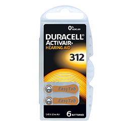 Pila Duracell Activair 312 Image