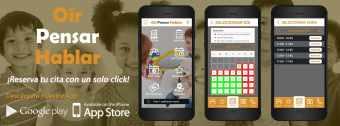 La App de Oír Pensar Hablar en Google Play y App Store