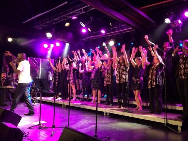 Concert de Moise Melende et son gospel pour Partage Oise