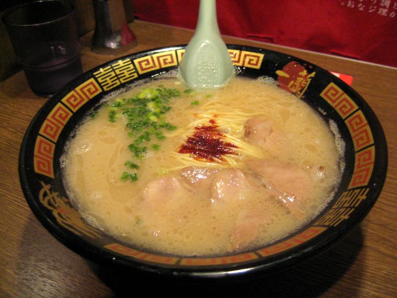 ichiran_tonkotsu