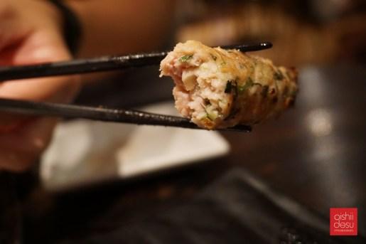 tasty chicken meatball