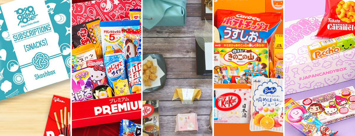 Top 5 Japanese Snack and Candy Subscription Boxes