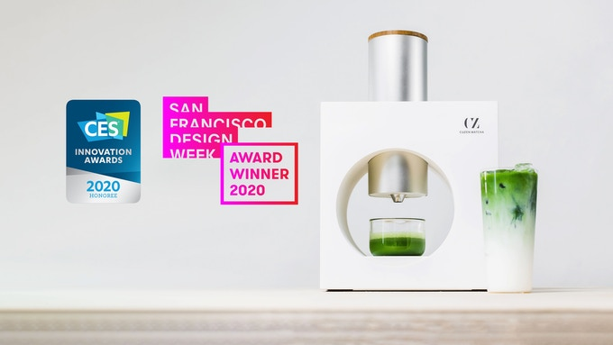 Photo Description: the images is of the various awards they have received from the CES innovation award, to the San Francisco Design Week Award Winner 2020.
