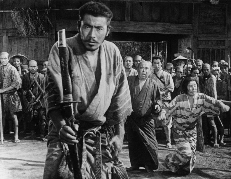 Photo Description: Akira Kurosawa and his favorite go to actor Toshiro Mifune.