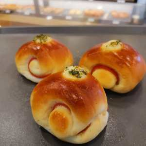 Oishi Pan Bakery Singapore - Best Ham Bun