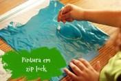 Pintura em zip lock