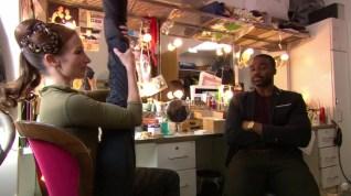 Lauren Cuthberson fala sobre Romeu e Julieta em seu camarim