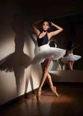 Ballerina Alison Stroming (Photo: John F Cooper)