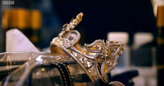Detalhe da Coroa