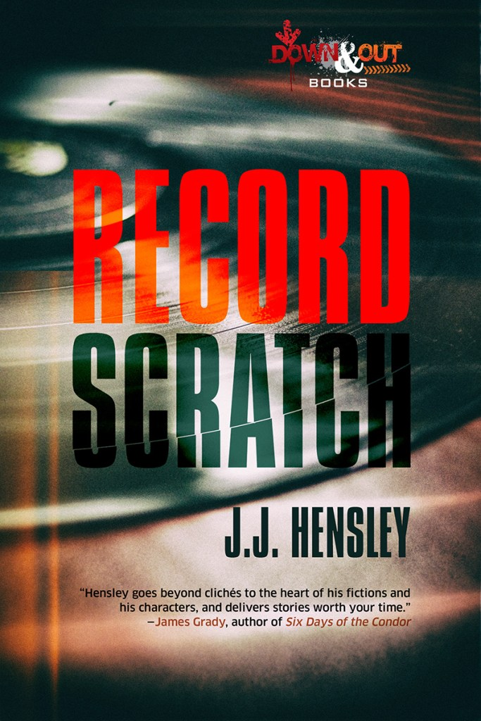 JJ Hensley: RECORD SCRATCH covered