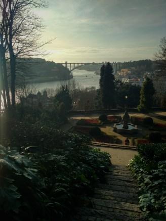 Jardins do Palácio de Cristal  Foto: Verônica Batista