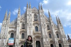 Catedral de Milão, na Piazza del Duomo   Crédito: Lis Maldos