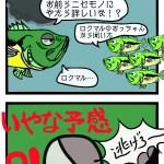 バス釣り4コマ【続6)バスの掟】