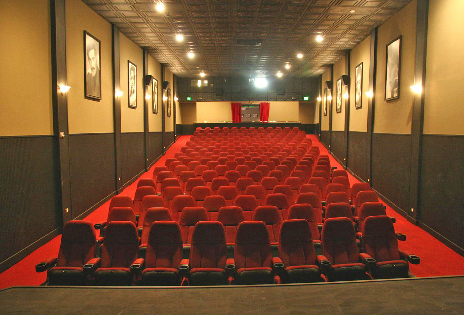 History of the ojai theatre for Inside movie