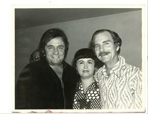 Johnny Cash & Earl Green photo