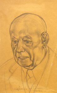 Harry Gorham, circa 1930. Portrait by Stanton Macdonald-Wright.