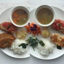 綾の季節のお野菜プレート