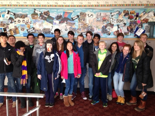 Project Linus participants at Columbus Academy on MLK Day 2016