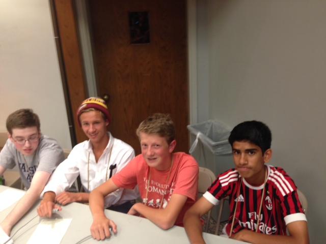 OH Intermediate:  Sam Katz (Shaker), Tullus Dean (Summit), Blake Himes (Shaker), and Vishnu Kasturi (Shaker)