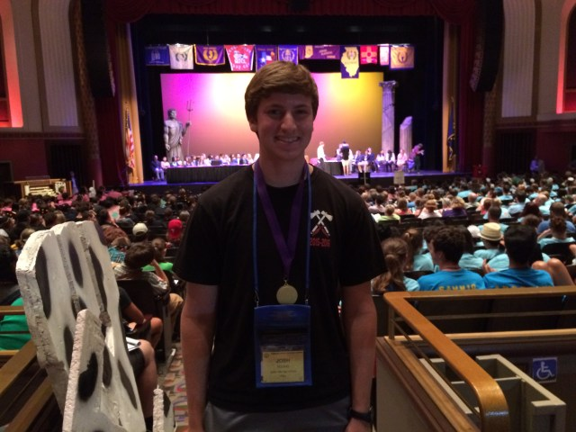 1st Place for State Publication - Josh Young (formerly of Indian Hill, presently of Duke)