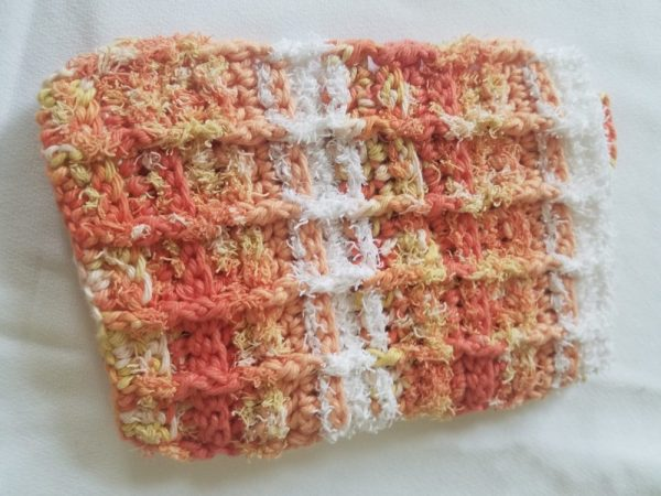 Hand-knitted Washcloth