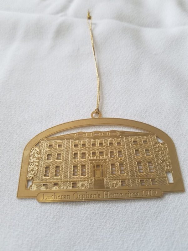 Commemorative Gold Ornament - Lutheran Orphan's Home