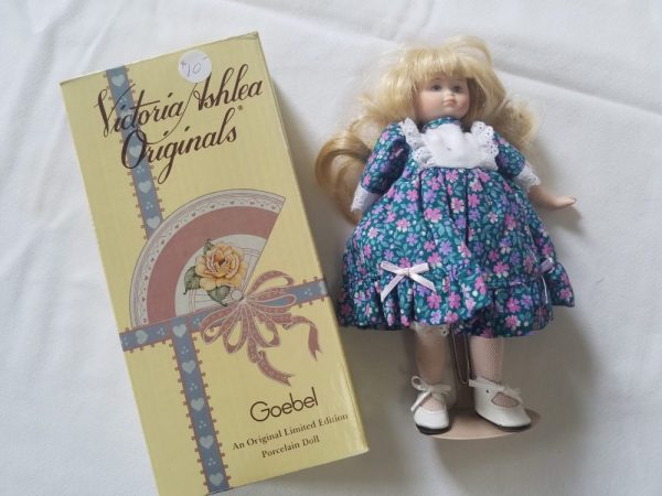 Victoria Ashlea Porcelain Doll