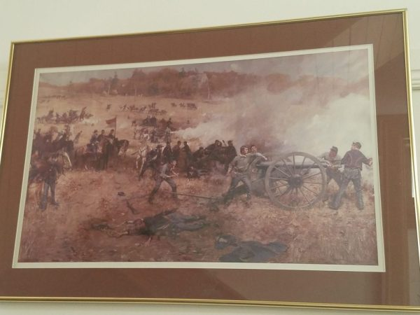 """""""Battery H at the Battle of Cold Harbor"""" - Print ~ Gilbert Gaul"""
