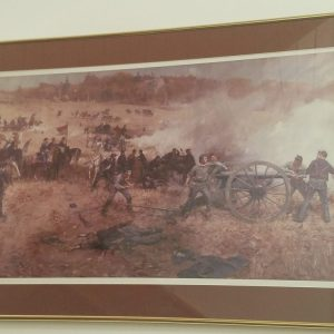 """Battery H at the Battle of Cold Harbor"" - Print ~ Gilbert Gaul"