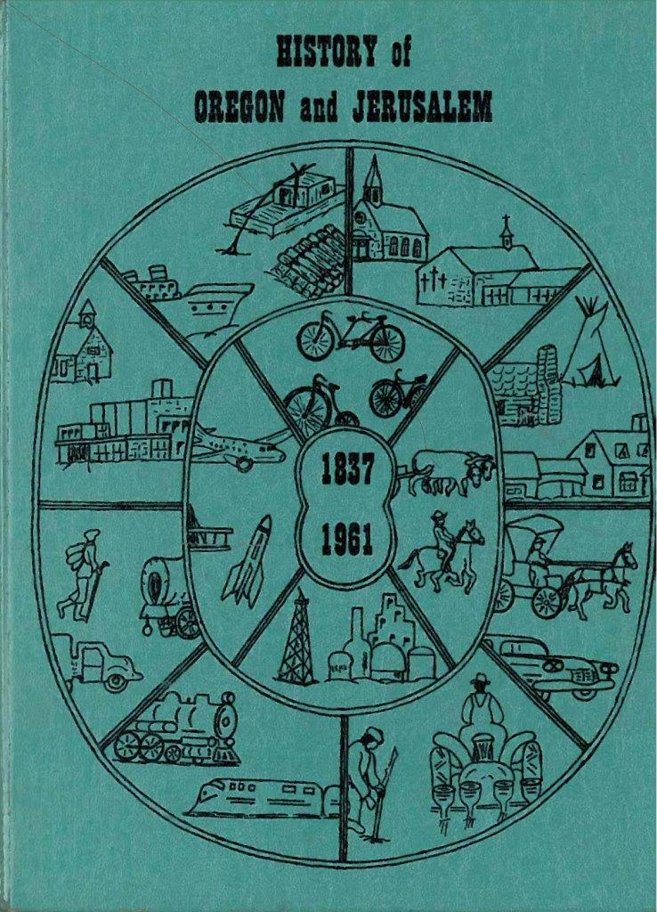 Josephine Fasset History of Oregon and Jerusalem