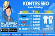 Info Kontes SEO Safelink Blogger 2019