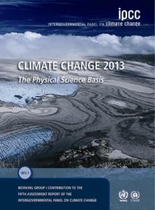 Portada del quinto Reporte Científico sobre Ciencia Climática. Acceda en este enlace al resumen técnico -en español- (http://bit.ly/1Pz88lw) y al informe completo -en inglés- (http://bit.ly/1Rhxwu).