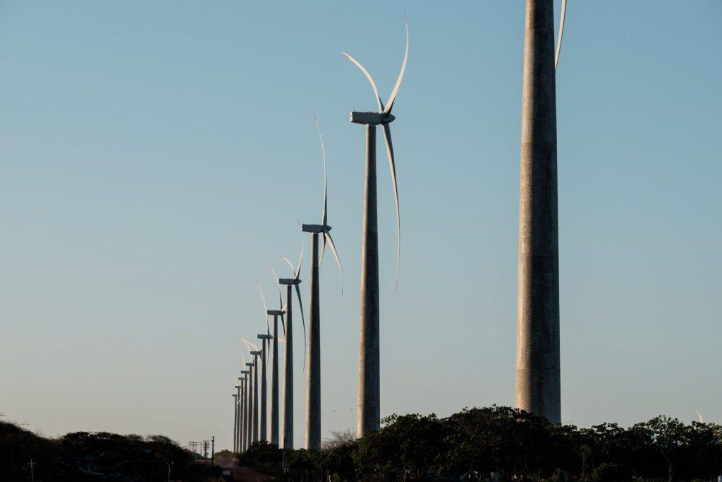 La planta eólica de Vamcruz, en el noreste de Brasil, tiene 22 turbinas y la capacidad de dar luz a 200.000 familias.