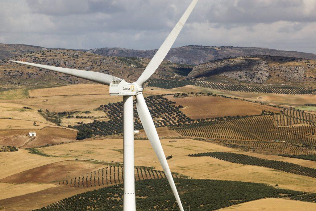 En la planta eólica de La Cámara, en España, se utilizan turbinas fabricadas en ese país.