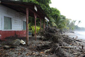 La erosión en la zona existe desde el 2010, pero los problemas podrían agravarse