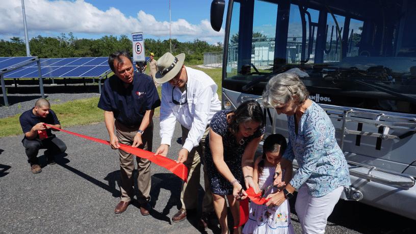 Autobús de hidrógeno se pone en marcha en Costa Rica
